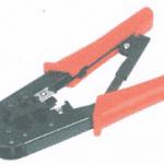 คีมสำหรับเข้าหัว RJ-45 สามารถปลอกฉนวนหุ้มสาย UTP ขลิบสาย UTP และบีบหัวได้อย่างสะดวก